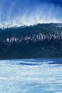 Морская волна у берегов Бискайского залива